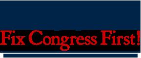 Fix Congress First
