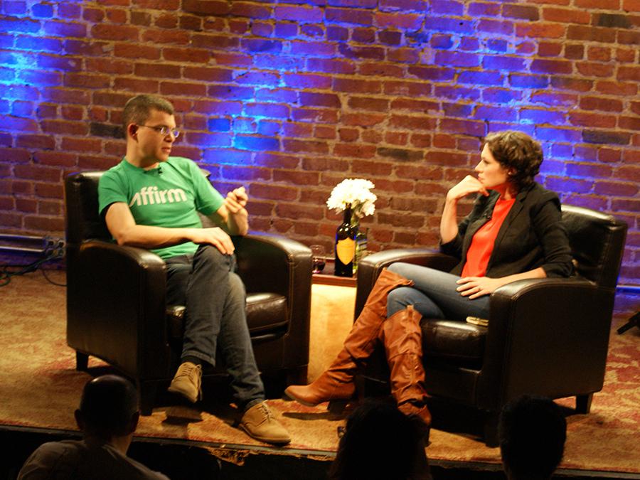 PandoDaily's Sarah Laacy w/ PayPal co-founder/former CTO Max Levchin