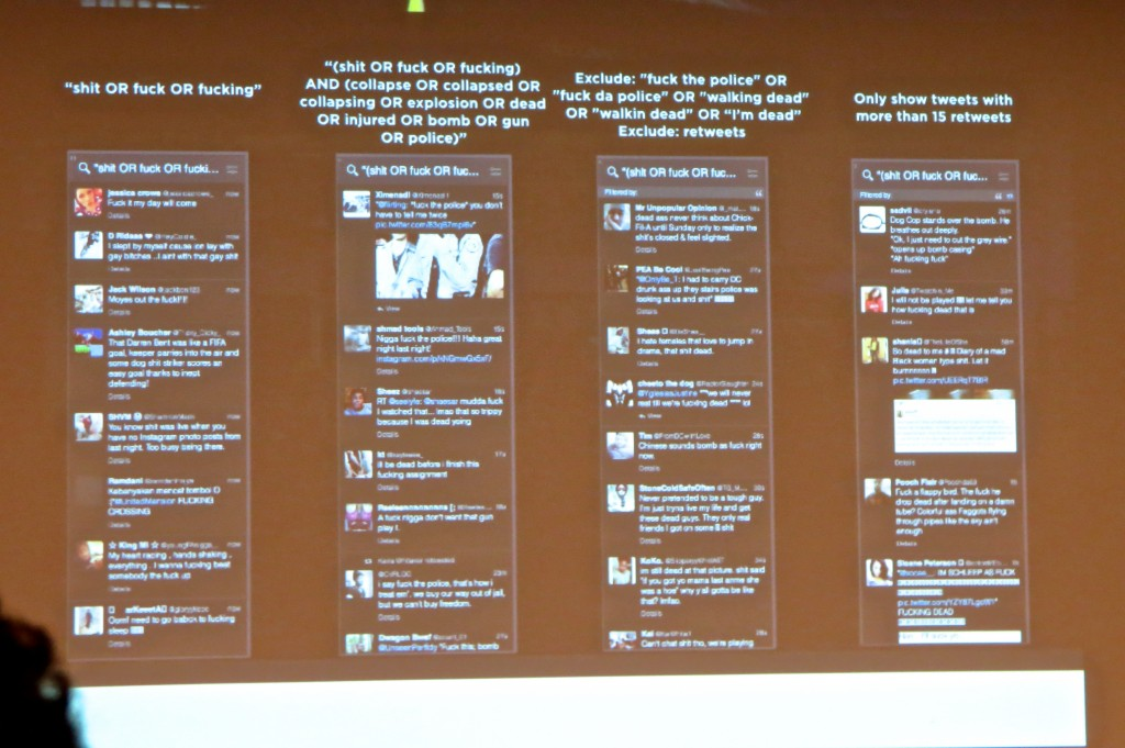 Tweetdeck Search for Breaking News