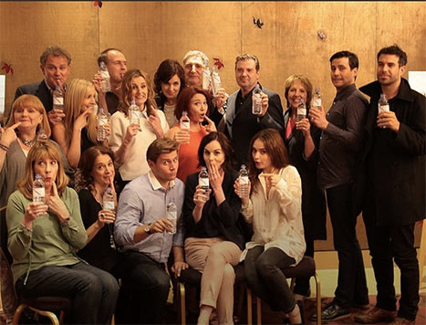 Here's to Us: the Cast of Downton Abbey