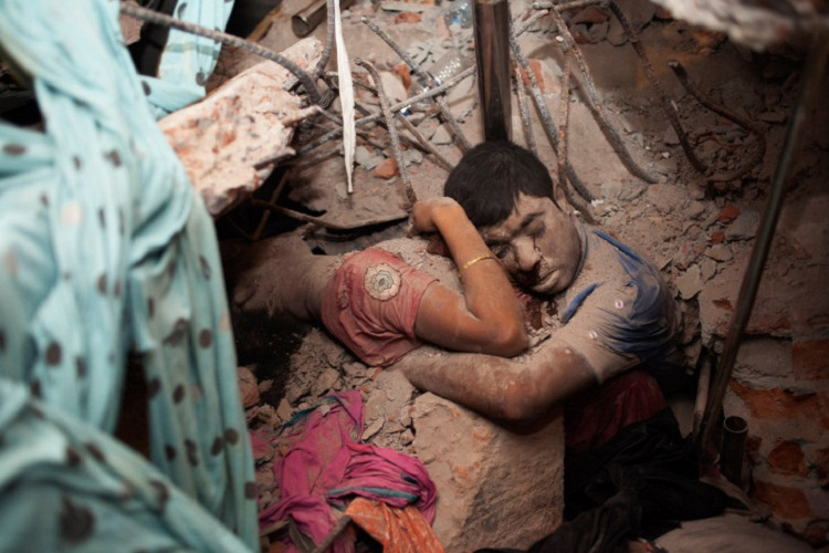 2 Victims of Garment Factory Collapse in Bangladesh Textile Exports (CC BY 2.0)