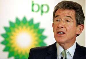 Lord Browne, former BP Chairman