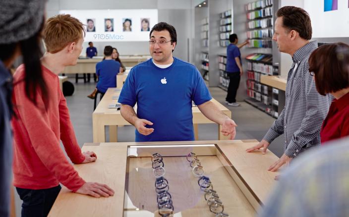 apple watch in store