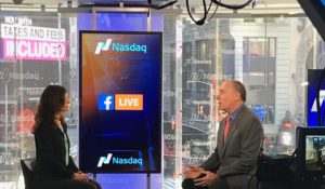 Talking PR at Nasdaq