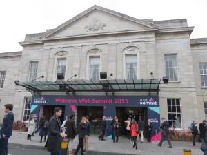 Web Summit Entry at Royal Dublin Society