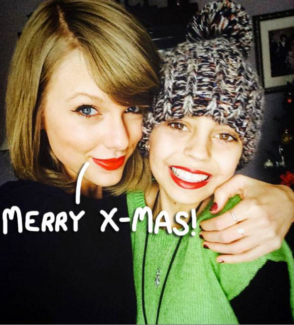 Taylor Swift Gives Young Cancer Patient a Christmas Surprise