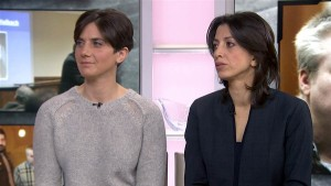 Filmmakers Laura Ricciardi and Moira Demos (Photo: NBC Today)