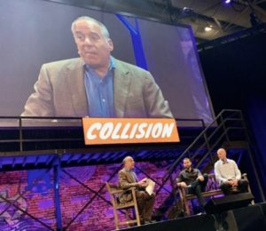 Peter Himler at 2019 Collision Conference